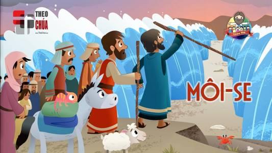 Môi-se giải cứu dân Chúa khỏi Ai Cập