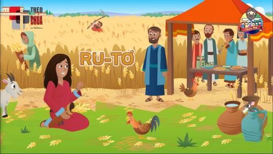Ru-tơ Người Con Dâu Hiếu Thảo