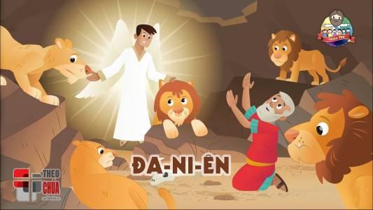 Đa-ni-ên Bị Quăng Trong Hầm Sư Tử