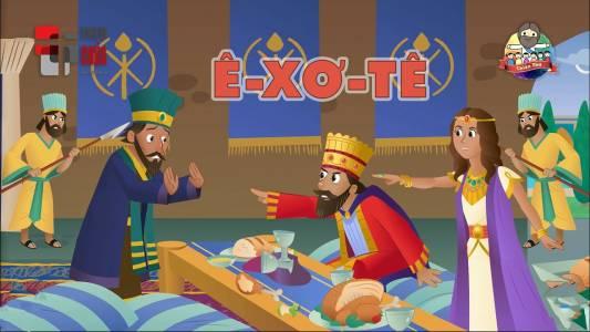 Ê-xơ-tê Hoàng Hậu Xinh Đẹp Và Can Đảm
