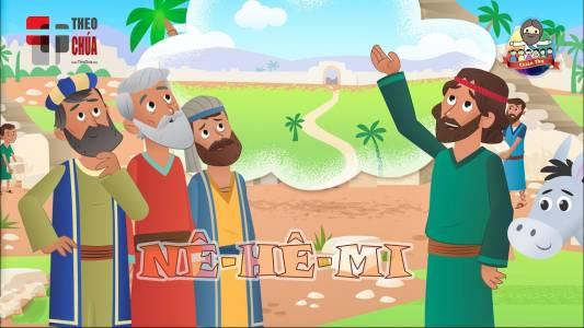 Nê-hê-mi Xây Dựng Tường Thành Đổ Nát