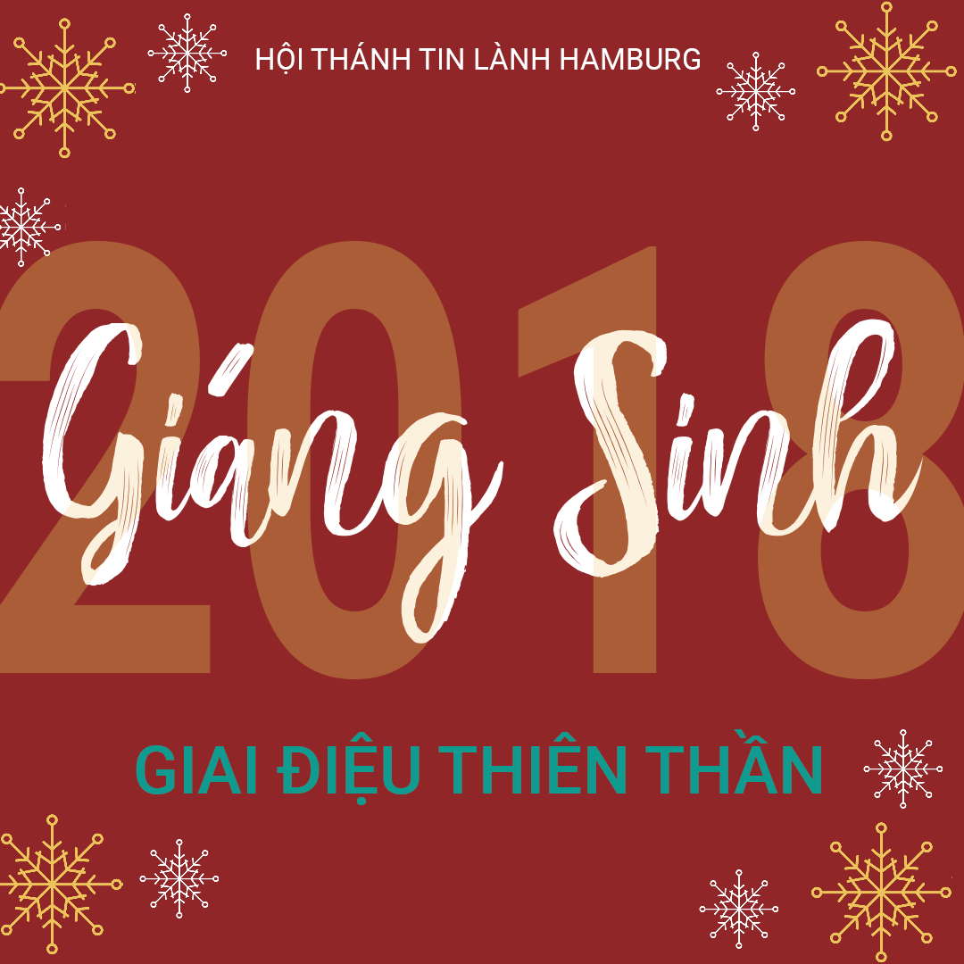 Lễ Giáng Sinh 2018: GIAI ĐIỆU THIÊN THẦN